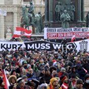 Citizens Move Against Virus Restrictions in Austria, Switzerland
